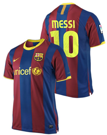 barcelona fc messi jersey. Nike FC Barcelona Messi Jersey