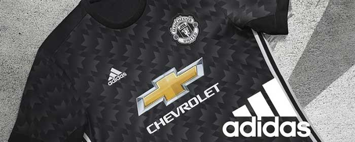 Manchester United 2017-2018 Away Jersey