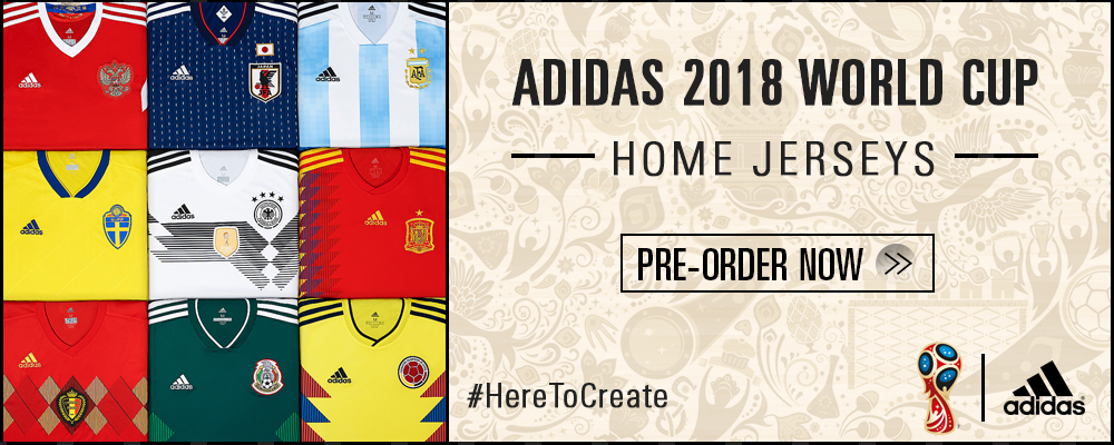 adidas World Cup 2018 Pre-Order