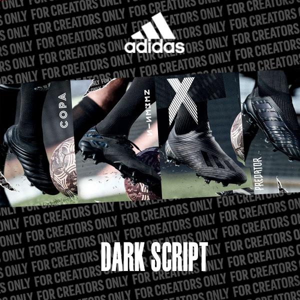 edb50bc1e Adidas Dark Script Pack featuring Nemeziz 19 and Predator 19 Soccer ...