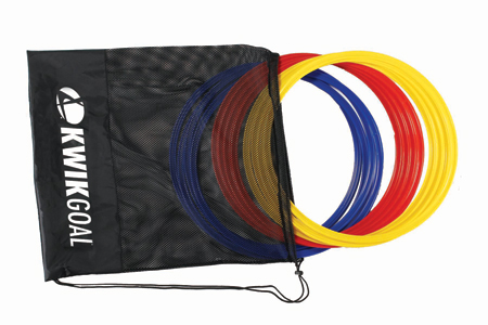 Kwik Goal Deluxe Speed Rings Set (12)