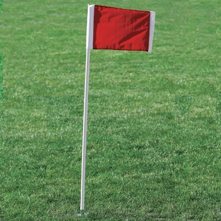 Kwik Goal Corner Flags 2GO Red (4pk)