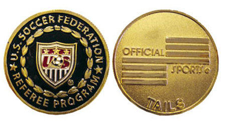 Official Sports USSF Flip Coin