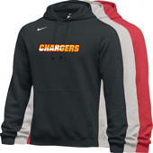 Chargers Nike Club Fleece Pullover Hoody