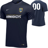 Armada Youth Navy Rec Jersey