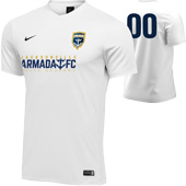 Armada Youth White Rec Jersey