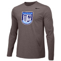 Needham SC Grey  LS Tee