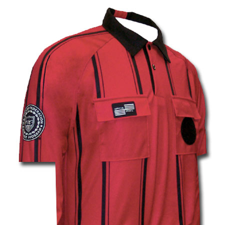 Official Sports USSF Pro SS Stripe Shirt