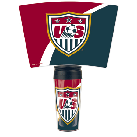 WinCraft USA Contour Travel Mug 16oz