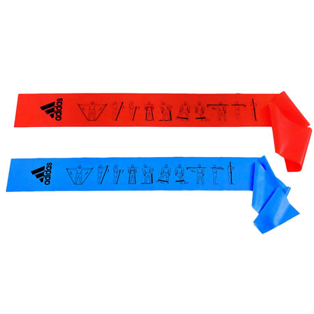 adidas Training Bands 6 ft 2 pack