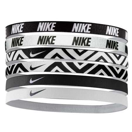 Nike Printed Headbands Assorted (6pk)