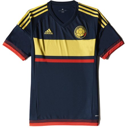 adidas Colombia 2015 Away Replica Jersey