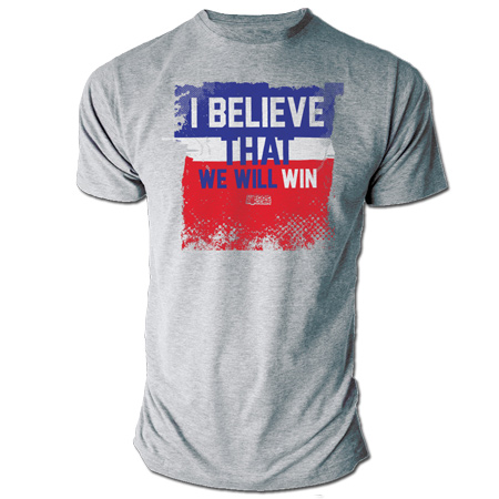 WGS United States I Believe Tee