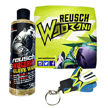 Reusch ReInvigorate Wash-Towel-Key Chain