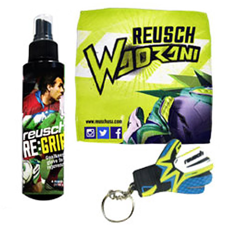 Reusch Re-Grip Towel and Key Chain Pack