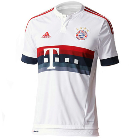 adidas Bayern Munich 2015-16 Away Replica Jersey