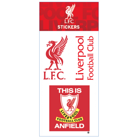 Liverpool Sheet Stickers