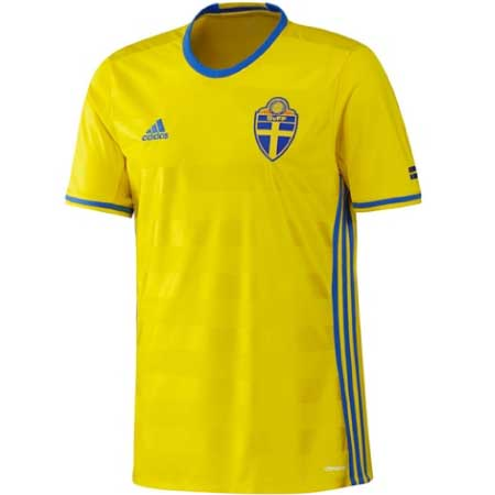 adidas Sweden Home 2016-17 Replica Jersey