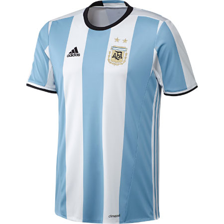 adidas Argentina Youth Home 2016-17 Replica Jersey