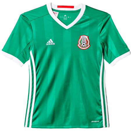 adidas Mexico Home 2016-17 Youth Replica Jersey