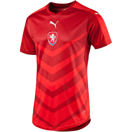 Puma Czech Republic Home Replica Jersey