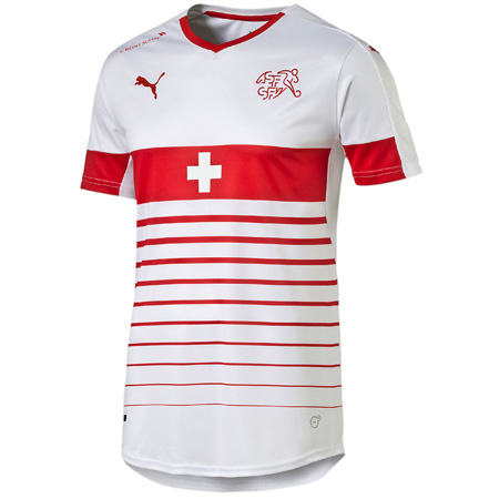 Puma Swiss Away Replica Jersey