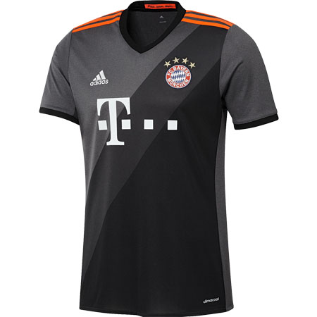 adidas Bayern Munich Away 2016-17 Replica Jersey