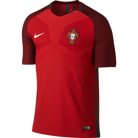 Nike Portugal Home 2016-17 Match Jersey