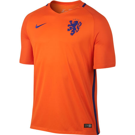 Nike Netherlands Home 2016-17 Stadium Jersey