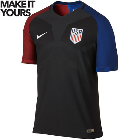Nike USA Away 2016-17 Match Jersey