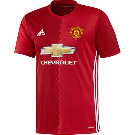 adidas Manchester United Home 2016-17 Replica Jersey