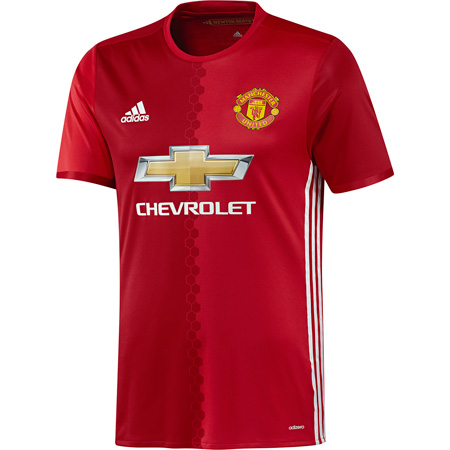adidas Manchester United Home 2016-17 Youth Jersey