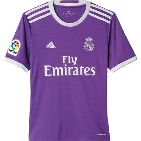 adidas Real Madrid Away 2016-17 Youth Replica Jersey