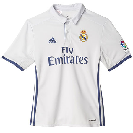 adidas Real Madrid Home 2016-17 Youth Replica