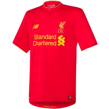 New Balance Liverpool Home 2016-17 Replica Jersey