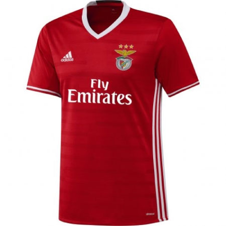 adidas Benfica Home 2016-17 Jersey