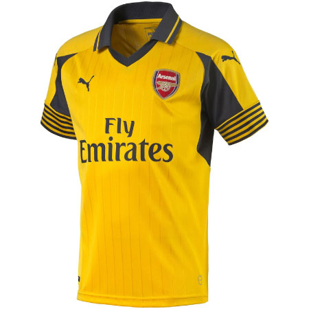 Puma Arsenal Away 2016-17 Youth Replica Jersey