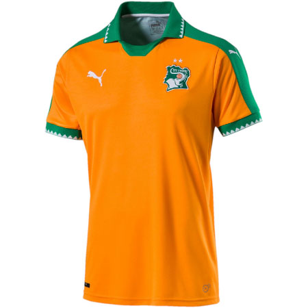 Puma Ivory Coast Home 2016-17 Replica Jersey