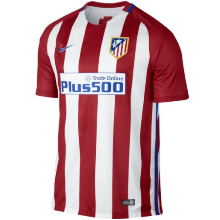 Nike Atletico Madrid Home 2016-17 Stadium Jersey