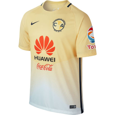 Nike Club America Home 2016-17 Stadium Jersey