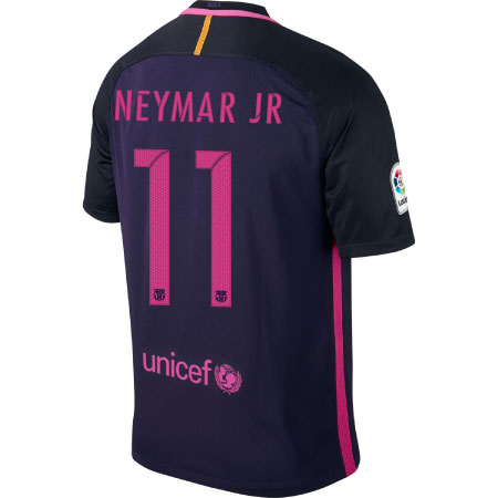 Nike FC Barcelona Away 2016-17 Stadium Jersey