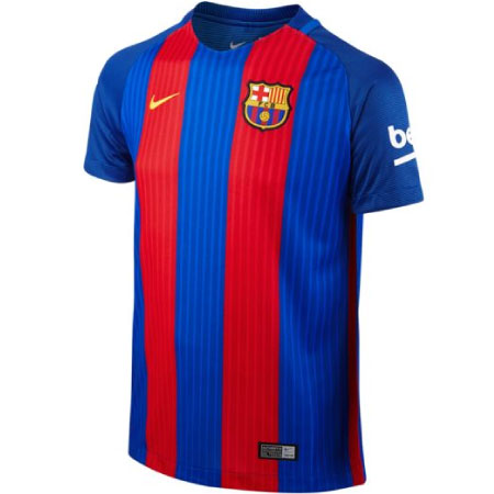 Nike FC Barcelona Home 2016-17 Stadium Youth Jersey