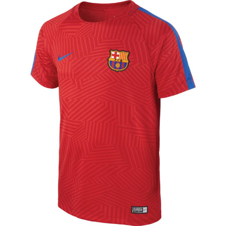 Nike FC Barcelona Youth Dry Top SS SQD