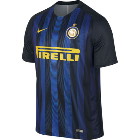 Nike Inter Home 2016-17 Stadium Jersey