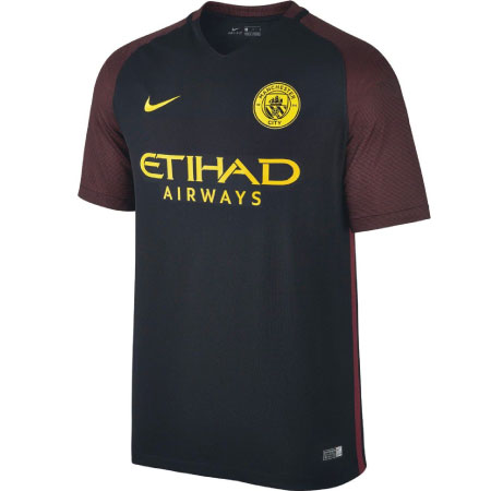 Nike Manchester City Away 2016-17 Stadium Jersey