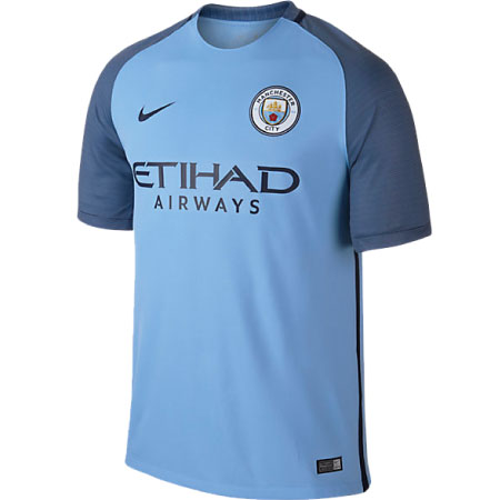 Nike Manchester City Home 2016-17 Stadium Jersey