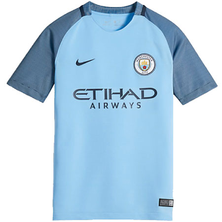 Nike Manchester City Home 2016-17 Youth Jersey
