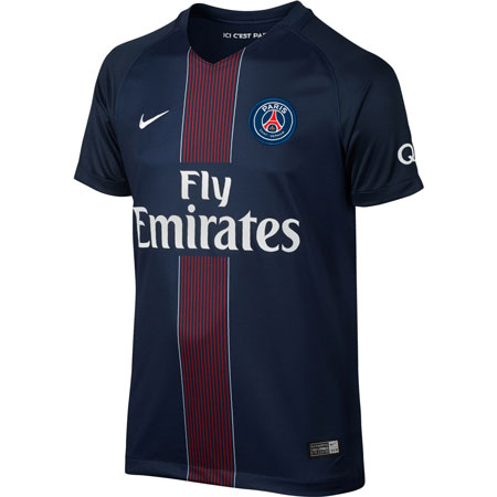Nike PSG Home 2016-17 Youth Stadium Jersey