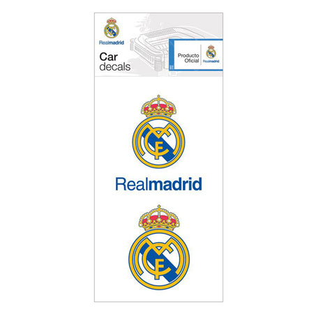 Real Madrid Car Decals