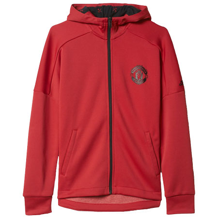 adidas Manchester United Youth Hoodie